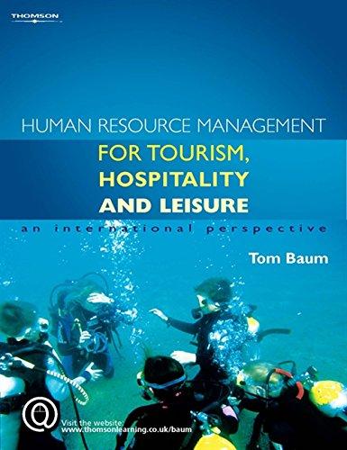 Human Resource Management for the Tourism, Hospitality: Baum, Tom