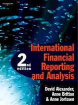 International Financial Reporting and Analysis: Anne Britton, David