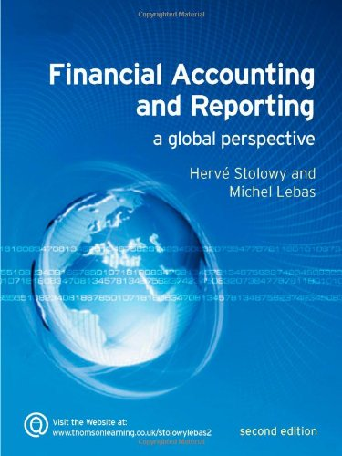 9781844802500: Financial Accounting and Reporting: A Global Perspective
