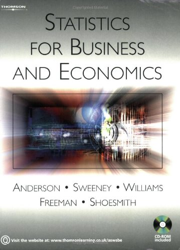 9781844803132: Statistics for Business and Economics