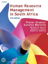 Human Resource Management in South Africa: Warnich Surette; Grobler,