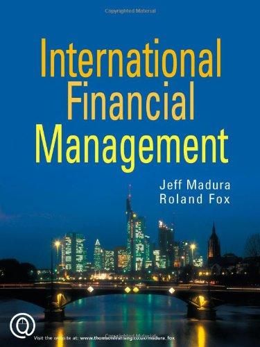 International Financial Management: Jeff Madura, Roland