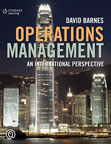 Studyguide for Operations Management by Barnes, David,: Cram101 Textbook Reviews
