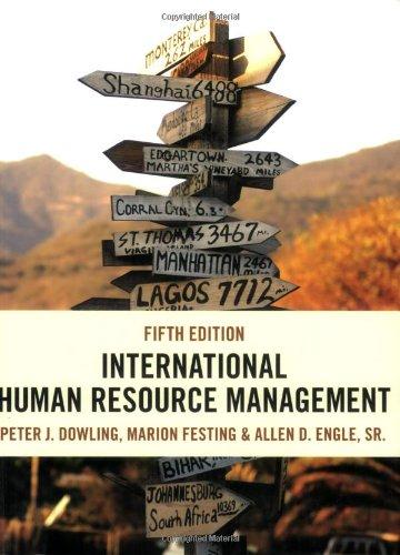 9781844805426: International Human Resource Management