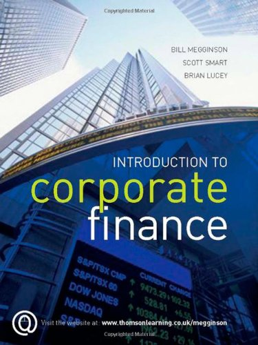 9781844805624: Introduction to Corporate Finance