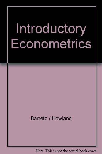 9781844805648: Introductory Econometrics