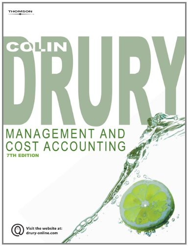 9781844805662: Management and Cost Accounting