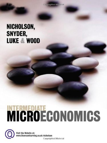 9781844806294: Intermediate Microeconomics