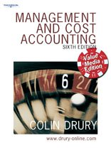 Management and Cost Accounting: Value Media Edition: Drury, Colin