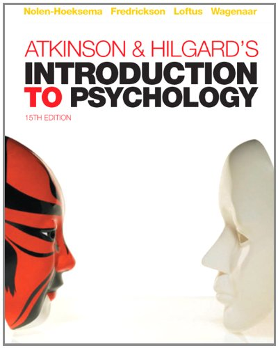9781844807284: Atkinson & Hilgard's Introduction to Psychology