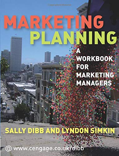 9781844807826: Marketing Planning: A Workbook for Marketing Managers
