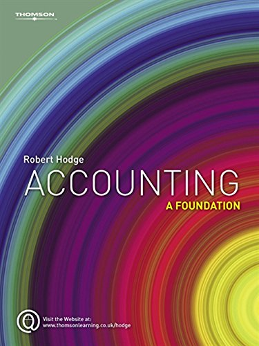 9781844808052: Accounting: A Foundation