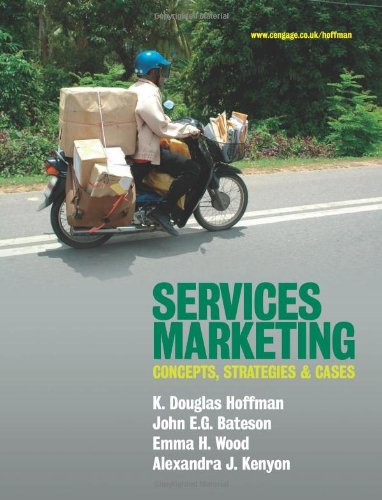 9781844808137: Services Marketing: Concepts, Strategies and Cases