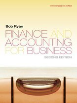 9781844808977: Finance and Accounting for Business