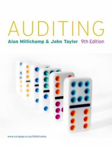 Auditing: A. H. Millichamp