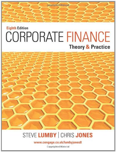 Corporate Finance: Theory and Practice: Steve Lumby; Chris