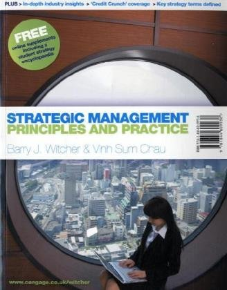 9781844809936: Strategic Management