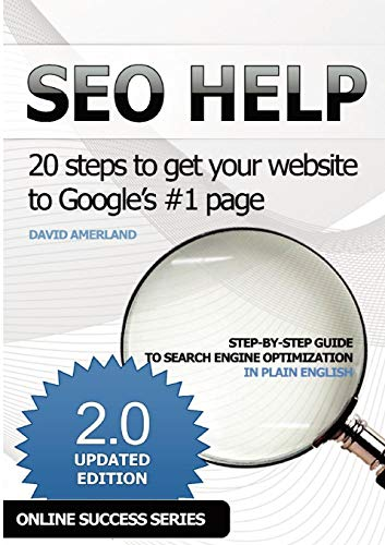 SEO Help: 20 steps to get your website to Google's #1 page 2nd edition: David Amerland