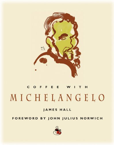 "Coffee with Michelangelo (Coffee with.Series) 9781844835119 How would it feel to stand in the Sistine Chapel as Michelangelo painted? To watch him create his breathtaking sculptures? James Hall, an art critic, historian, and lecturer, puts us in that amazing position, and in the process reveals intriguing details on the master artist's life and thoughts. Despite a reputation for being a truculent loner, Michelangelo was an eloquent speaker in two dialogues compiled in the 1540s, and the conversation"" here comes from those and a number of other sources, including contemporary biographies, Michelangelo's many letters and poems, and anecdotes and quotations relayed by contemporaries."