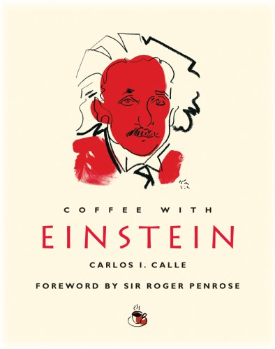 Coffee with Einstein (Coffee with.Series) 9781844836130 One of the most gifted scientists who ever lived, Nobel Prize winner Albert Einstein revealed to us the elasticity of space and time and altered our entire conception of the universe. Over an imaginary coffee with top NASA physicist Carlos Calle, Einstein tells all about his revolutionary work on relativity, quest for a grand unifying theory of the cosmos, anxieties about the nuclear bomb he helped unleash, and personal matters too.