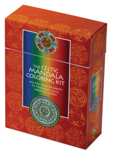 The Celtic Mandala Coloring Kit: All You Need to Create 12 Stunning Celtic Greeting Cards
