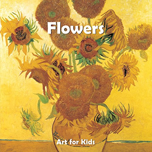 Flowers: Puzzle books (Art for Kids): Parkstone Press