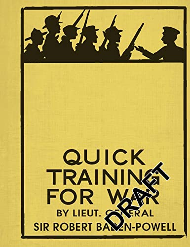 9781844861439: Quick Training for War