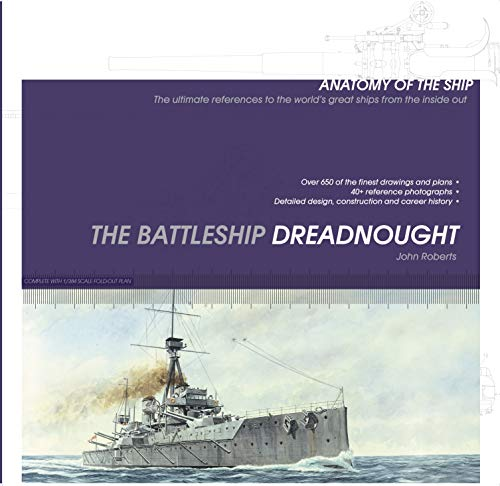 9781844862061: The Battleship Dreadnought (Anatomy of the Ship)
