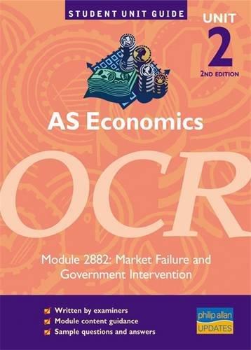 AS Economics OCR Unit 2, Module 2882: Westaway, Tony