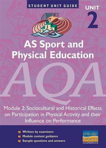 AS Sport and Physical Education AQA Unit: Burrows, Symond