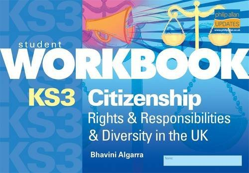 9781844894864: KS3 Citizenship Workbook: Rights & Responsibilities & Diversity in UK: Rights and Responsibilities and Diversity in the UK (Student Workbooks)