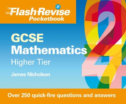 9781844897117: GCSE Mathematics Flash Revise Cards: Higher Tier
