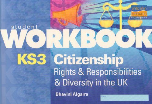 9781844897308: KS3 Citizenship Workbook: Rights & Responsibilities & Diversity in UK: Rights and Responsibilities and Diversity in UK