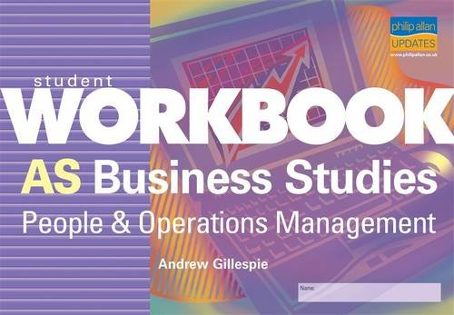 9781844897650: AS Business Studies: People and Operations Management: Student Workbook
