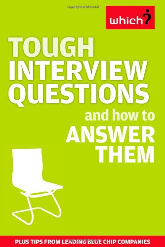 9781844900695: Tough Interview Questions and How to Answer Them