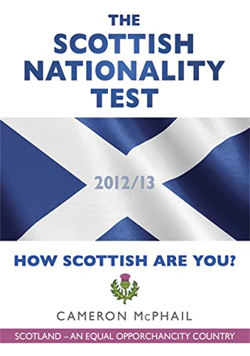 9781845024154: Scottish Nationality Test: How Scottish Are You?