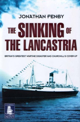 9781845058845: The Sinking of the Lancastria (Clipper Large Print)