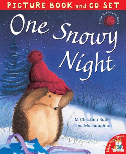 9781845064242: One Snowy Night (Book & CD)