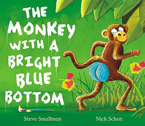 9781845064594: The Monkey with a Bright Blue Bottom (Picture Book and CD Set)