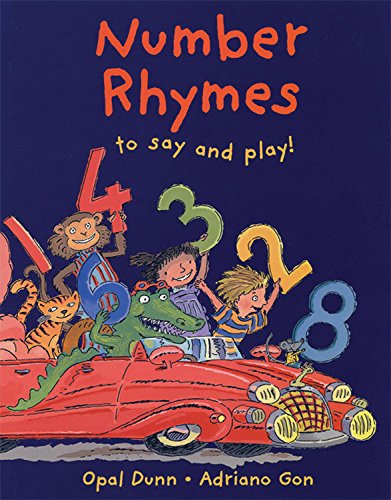 9781845071509: Number Rhymes to Say and Play!