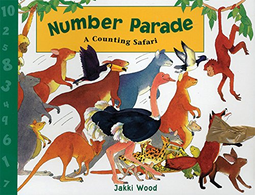 9781845072162: Number Parade (US Edition) (Windy Edge)
