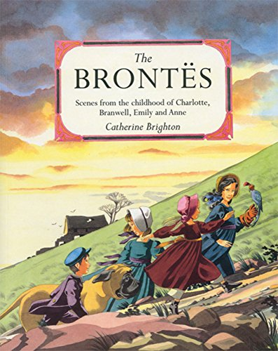 9781845073343: The Brontes: Scenes from the Childhood of Charlotte, Branwell, Emily and Anne