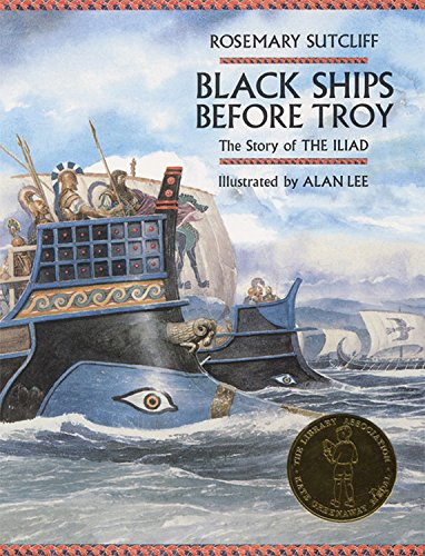 9781845073596: Black Ships Before Troy: The Story of The Iliad