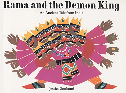 9781845073848: Rama and the Demon King: An Ancient Tale from India (Punjabi-English Bilingual Edition)