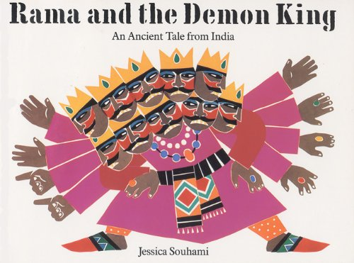 9781845074166: Rama and the Demon King: An Ancient Tale from India (Gujarati-English Bilingual Edition)