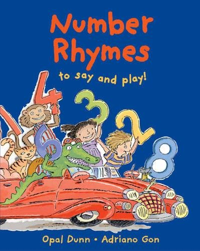 9781845074418: Number Rhymes to Say and Play