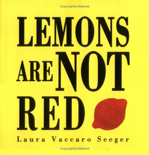9781845074616: Lemons are Not Red