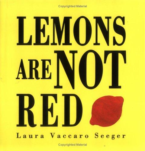 9781845074616: Lemons are Not Red