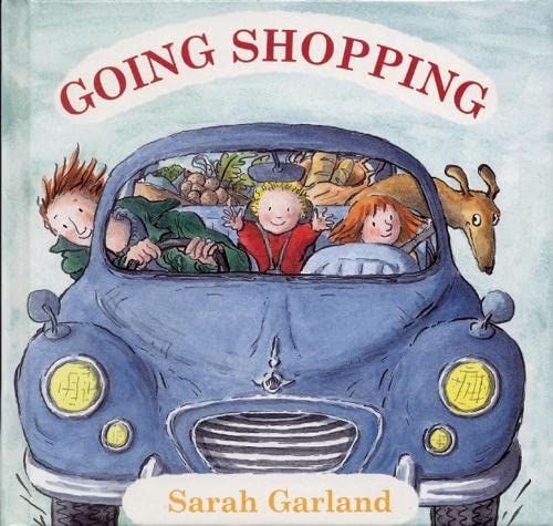 Going Shopping 9781845077259 Going Shopping portrays one of the most familiar family activities: the trip to the supermarket. Readers follow Mum, her two young daugh