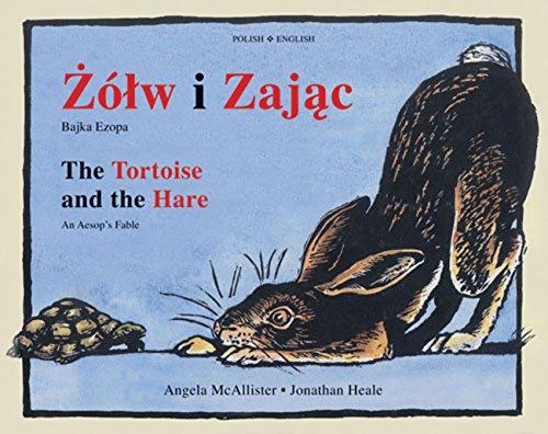 9781845079482: Zólw i Zajac/The Tortoise and the Hare: Bajka Ezopa/An Aesop's Fable